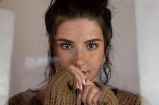 Projekt Makeup Artist, Julia Bachmayer - Model Sandra, Foto: Lukas Bäumchen