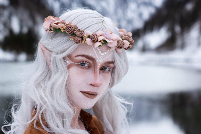 "Projekt Makeup Artist, JElfen, ulia Bachmayer- ""Elfen"", Model Sandra"